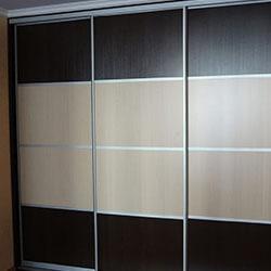 Встроенный шкаф-купе № 0616