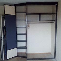 Встроенный шкаф-купе № 0619
