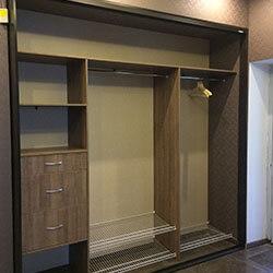 Встроенный шкаф-купе № 0625