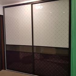 Встроенный шкаф-купе № 0626