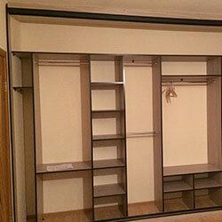 Встроенный шкаф-купе № 0633
