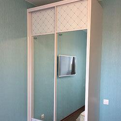 Встроенный шкаф-купе № 0634