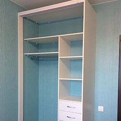 Встроенный шкаф-купе № 0635