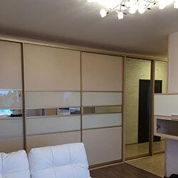 Встроенный шкаф-купе № 0636