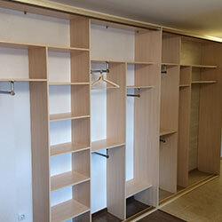 Встроенный шкаф-купе № 0637