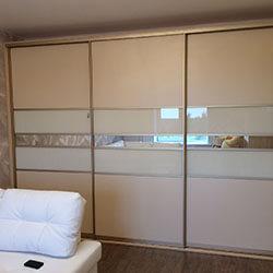 Встроенный шкаф-купе № 0638