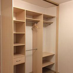 Встроенный шкаф-купе № 0640