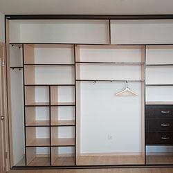 Встроенный шкаф-купе № 0642