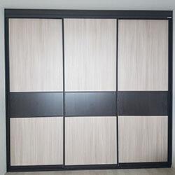 Встроенный шкаф-купе № 0643