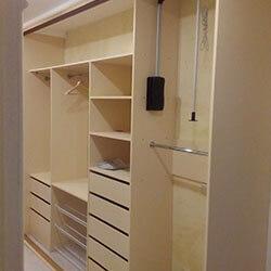 Встроенный шкаф-купе № 0649