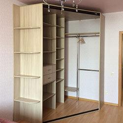 Встроенный шкаф-купе № 0655