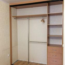 Встроенный шкаф-купе № 0657