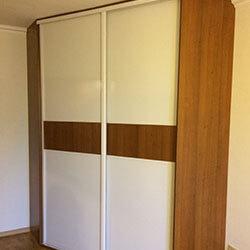 Встроенный шкаф-купе № 0662