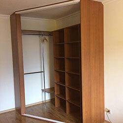 Встроенный шкаф-купе № 0663
