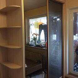 Встроенный шкаф-купе № 0666