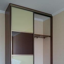 Встроенный шкаф-купе № 0075