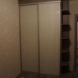 Встроенный шкаф-купе № 0671