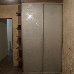 Встроенный шкаф-купе № 0672