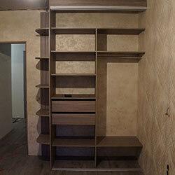 Встроенный шкаф-купе № 0673