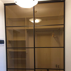 Встроенный шкаф-купе № 0676