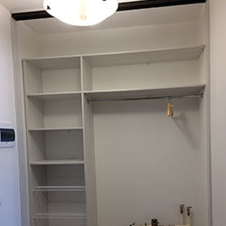 Встроенный шкаф-купе № 0677