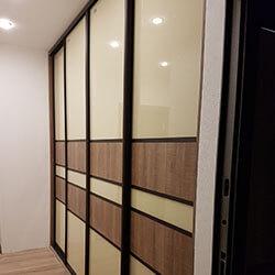 Встроенный шкаф-купе № 0680