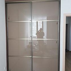 Встроенный шкаф-купе № 0682