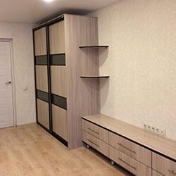 Встроенный шкаф-купе № 0687