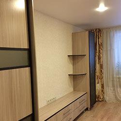 Встроенный шкаф-купе № 0689