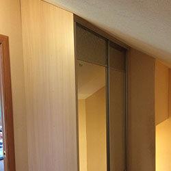 Встроенный шкаф-купе № 0690