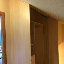 Встроенный шкаф-купе № 0691