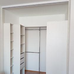 Встроенный шкаф-купе № 0695