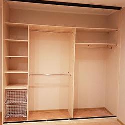 Встроенный шкаф-купе № 0697