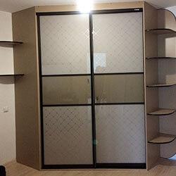 Встроенный шкаф-купе № 0698