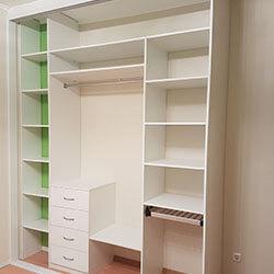 Встроенный шкаф-купе № 0701