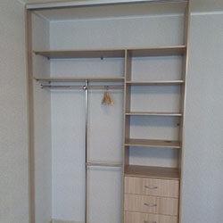 Встроенный шкаф-купе № 0710