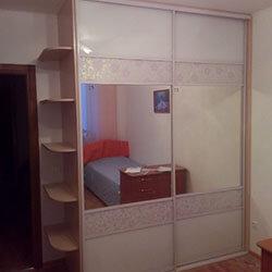 Встроенный шкаф-купе № 0715