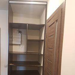 Встроенный шкаф-купе № 0718