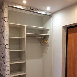 Встроенный шкаф-купе № 0720