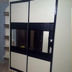 Встроенный шкаф-купе № 0723