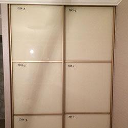 Встроенный шкаф-купе № 0725