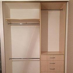 Встроенный шкаф-купе № 0726