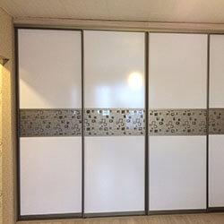 Встроенный шкаф-купе № 0731