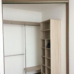 Встроенный шкаф-купе № 0734