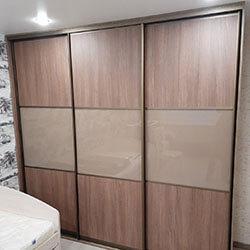 Встроенный шкаф-купе № 0740