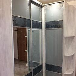 Встроенный шкаф-купе № 0741