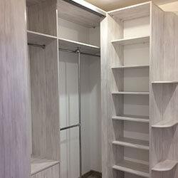 Встроенный шкаф-купе № 0742