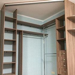 Встроенный шкаф-купе № 0746