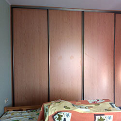 Встроенный шкаф-купе № 0083