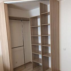 Встроенный шкаф-купе № 0748